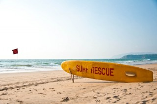 Surf rescue Palolem