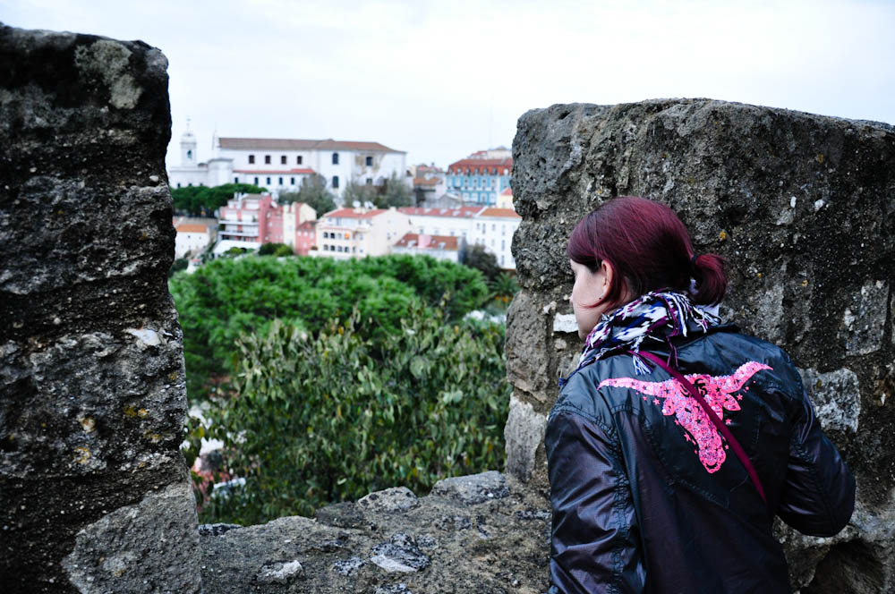 Looking at the city from Castelo Sao Jorge