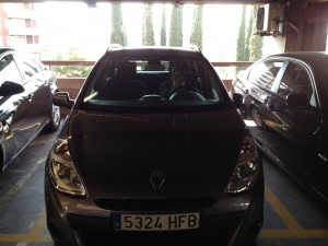 Our Clio in Barcelona