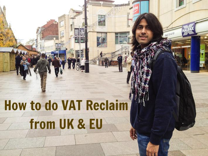 How to do VAT reclaim UK & EU