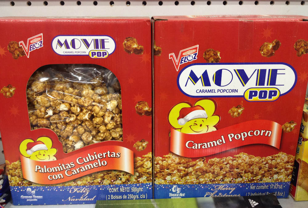 For desert or movie time: pop-corn!