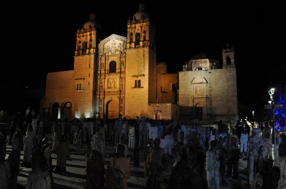 Invading Oaxaca's Zocalo