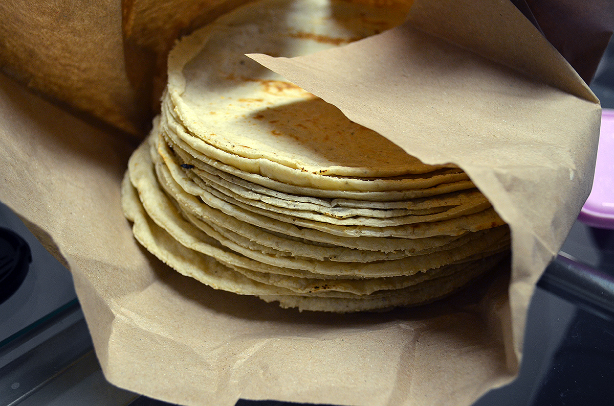 Corn tortilla: the mother, father, brother and sister of all Mexican dishes!