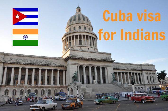 Cuba visa for Indians