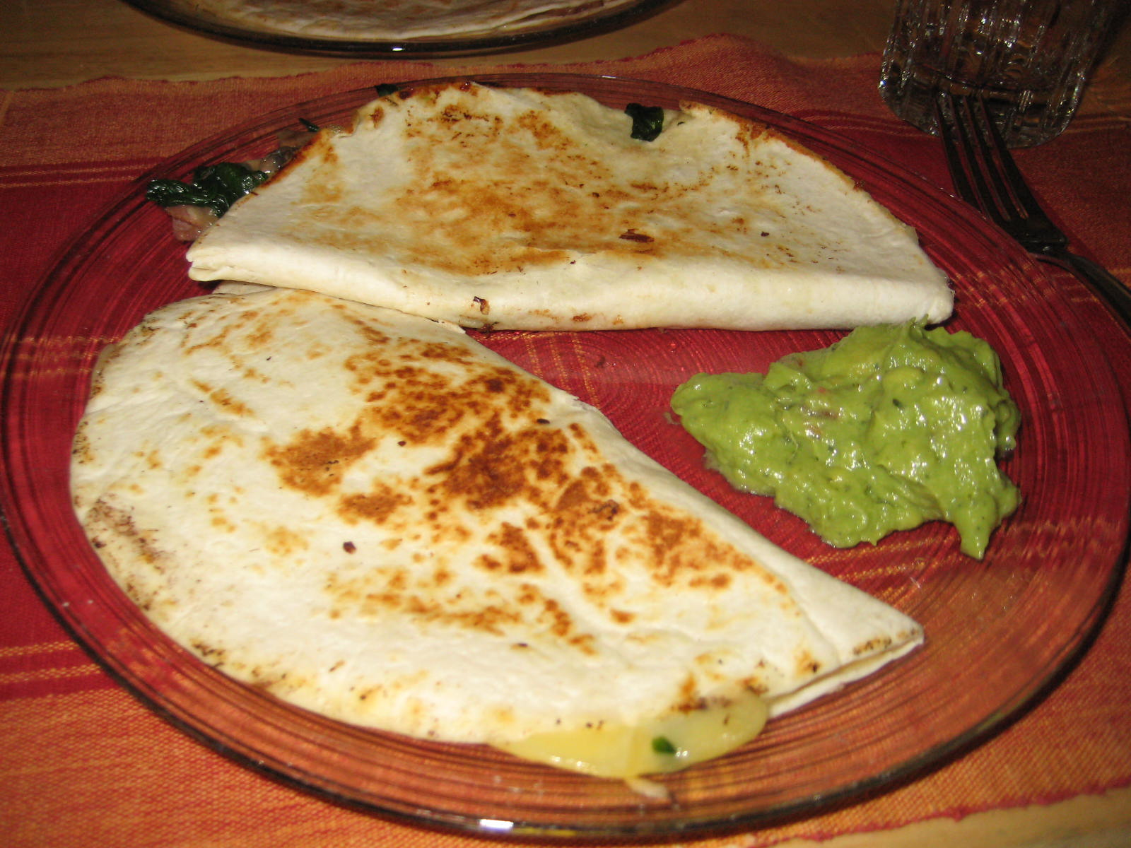 Quesadillas: my favorite Mexican food! Specially with fillings of chorizo or zucchini flower!