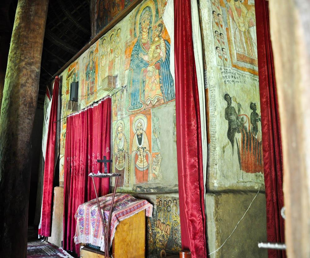 Gorgora church Ethiopia