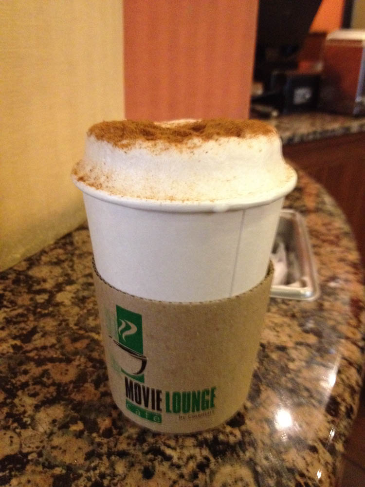Foamy coffee in Mexico City