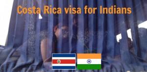 Costa Rica Visa for Indians