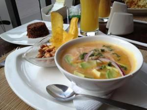 Achiote Restaurant in Quito, Ecuador
