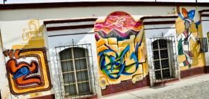 Streetside Grafitti in Oaxaca