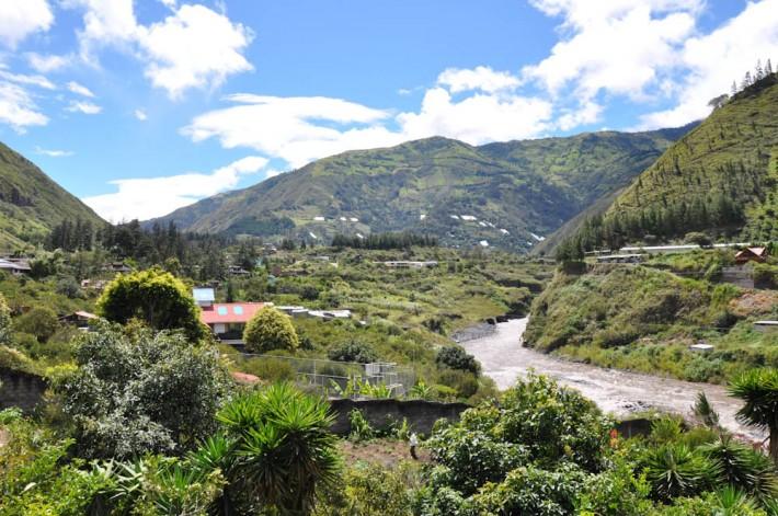La Casa Verde in Banos, Ecuador