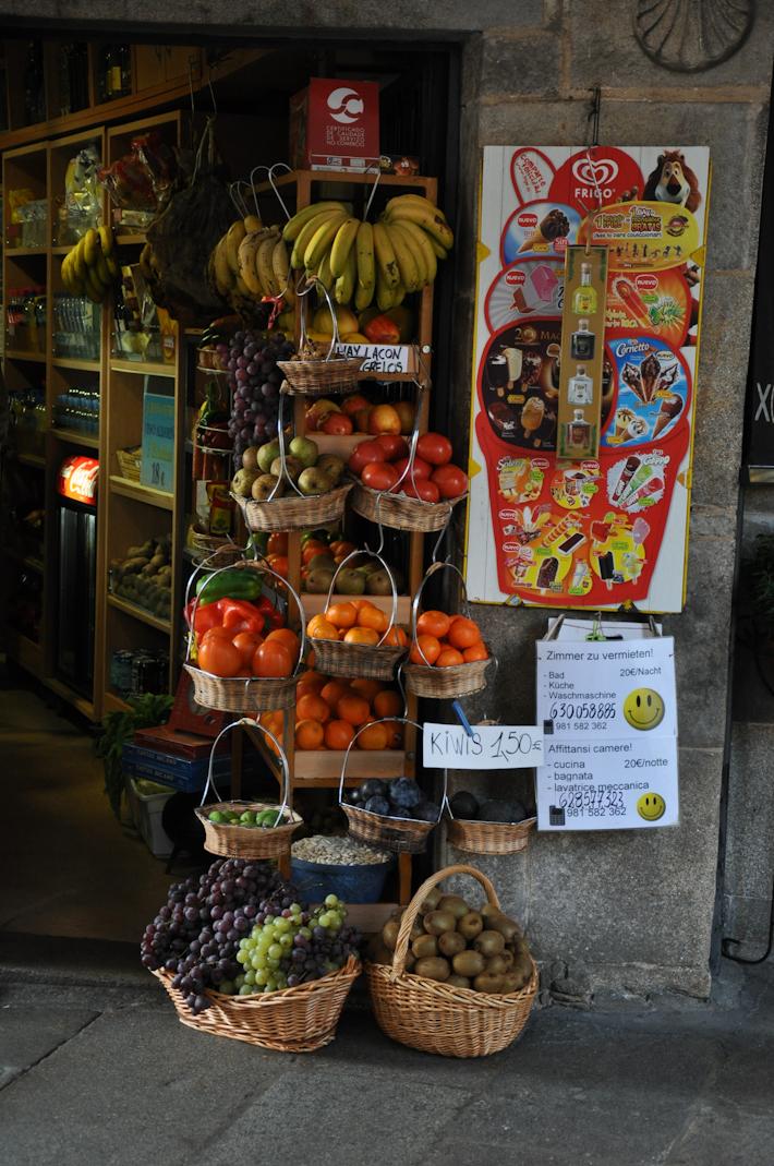 Fruits in Santiago