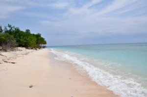 The pristine beaches of Gili Trawangan