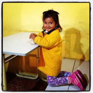 andean girl photo
