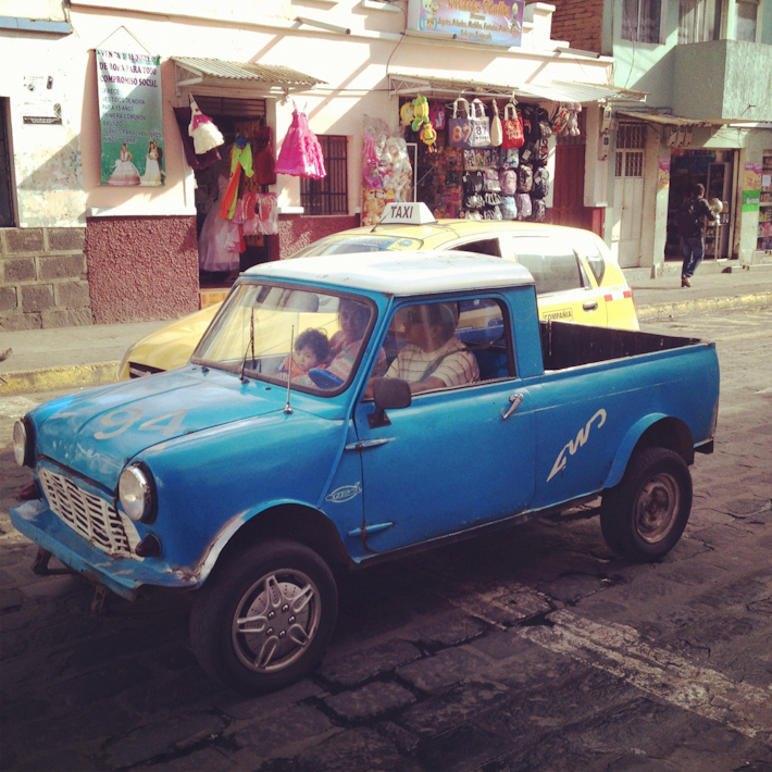 An ecuadorean ride
