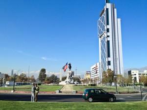 Santiago on a sunny day