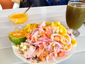 Volquetero: typical food from the Amazon in Ecuador