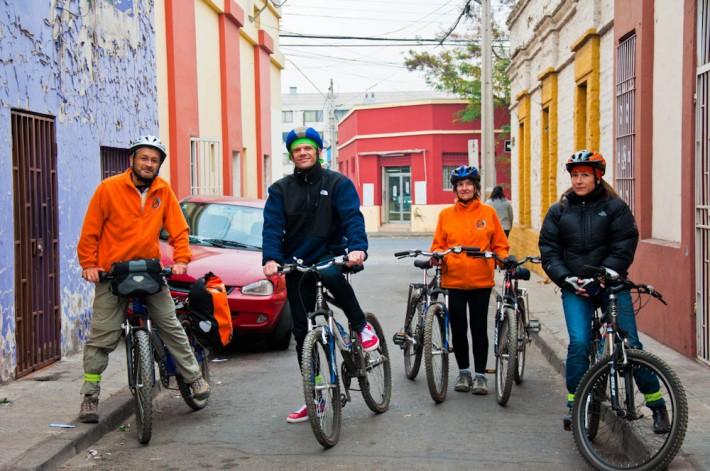 Paseos en Bicicleta, Santiago de Chile