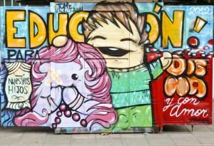 Graffiti Santiago de Chile