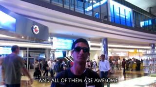 Rohit, Malls of Dubai song