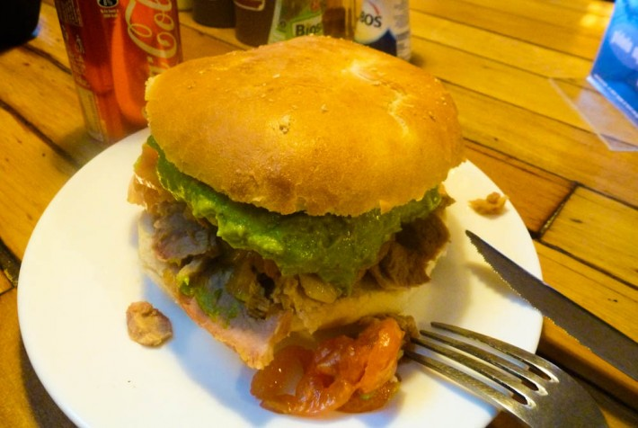 German sandwiches in Chile