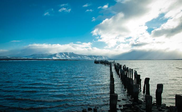 Puerto Natales landscape, Chile