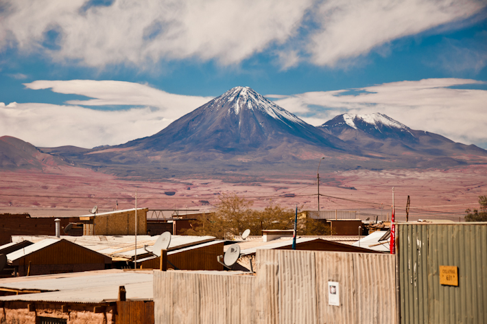 The Licancabur Volcano