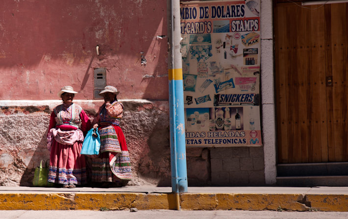 Andean Garb in Chivay