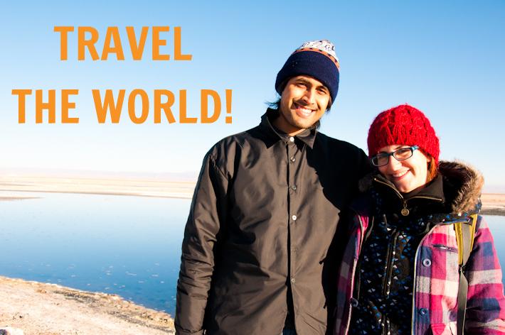 Save money to travel around the world