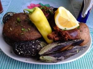 Curanto: traditional food from Chile