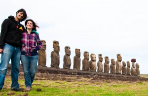 Backpacking in Easter Island