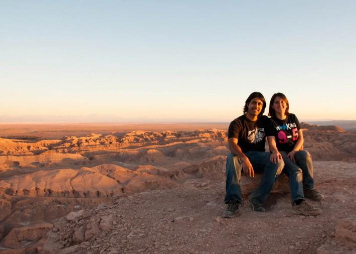 Moon Valley in the Atacama Desert - Chile (Turismo Grado 10)