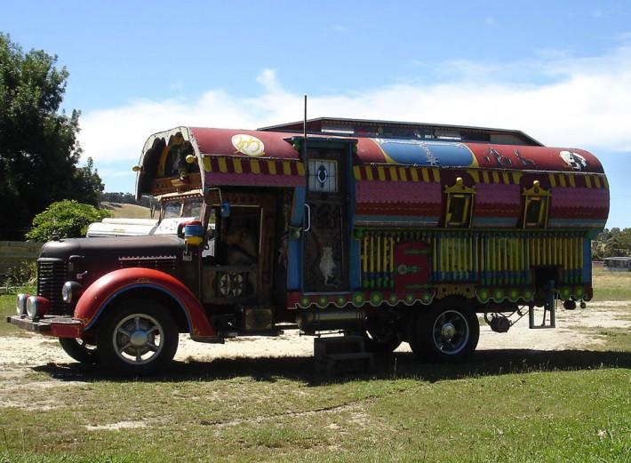 A gypsy bus
