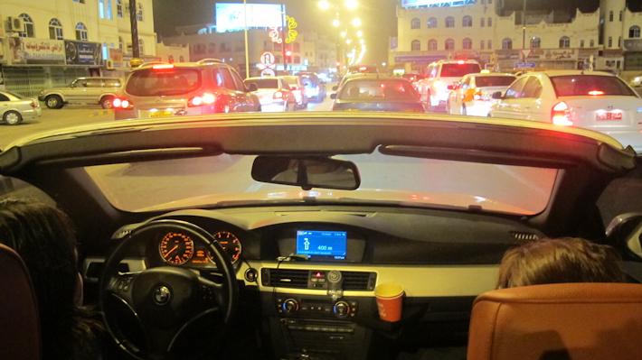 Traffic in Salalah