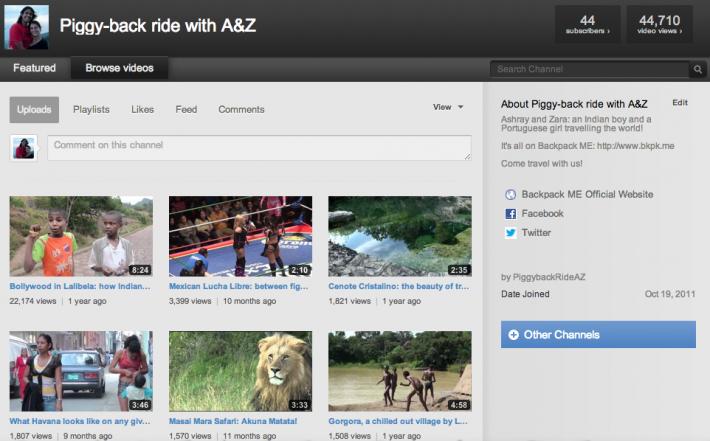 Best travel videos