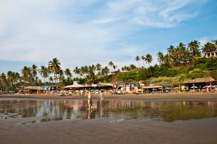 Christmas at Vagator Beach, Goa