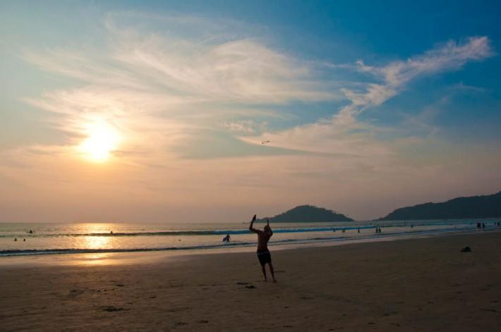 New Year in Palolem Beach, Goa