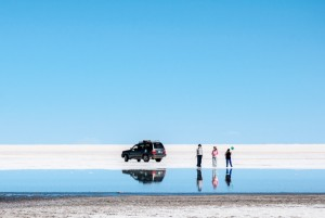 Reflections at Salar de Uyuni