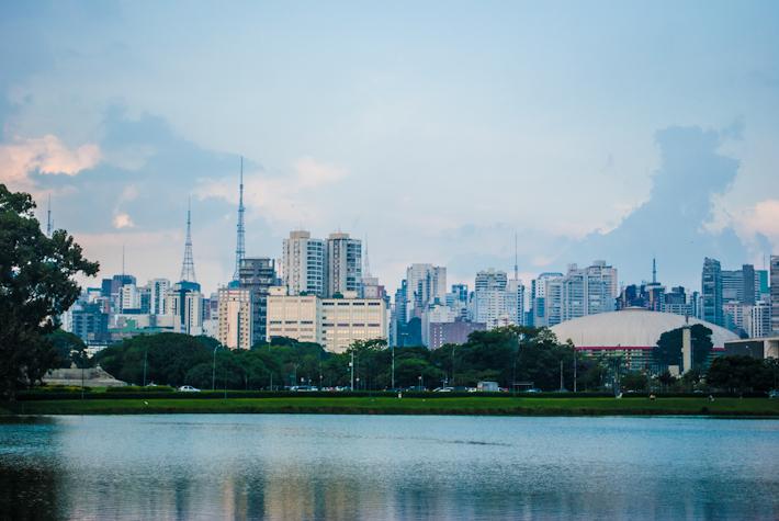 Parque do Ibirapuera Sao Paulo