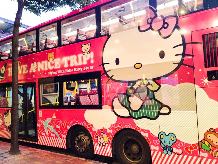 Hello Kitty airline Hong Kong