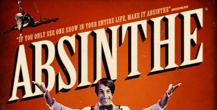 Absinthe show in Las Vegas