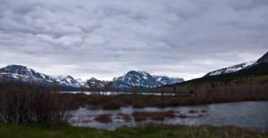 Right after we entered Glacier National Park