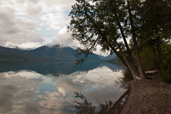 Flawless beauty of Glacier National Park