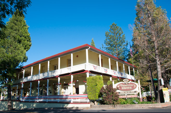 The Groveland Hotel at Yosemite National Park