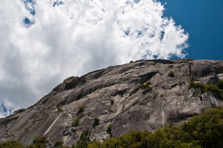 Vertical Granite in Yosemite