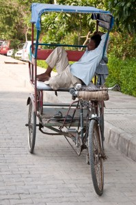Siesta time in New Delhi