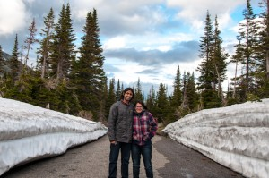 High snow at Glacier National Park