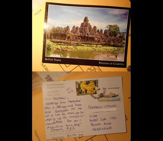 Gonzalo_Cambodia to Argentina