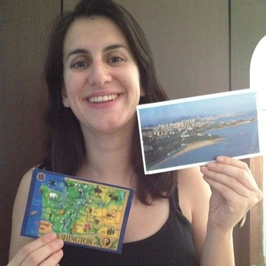 We send a real postcard to everyone who subscribes to our #travel newsletter... and sometimes we get surprises back!