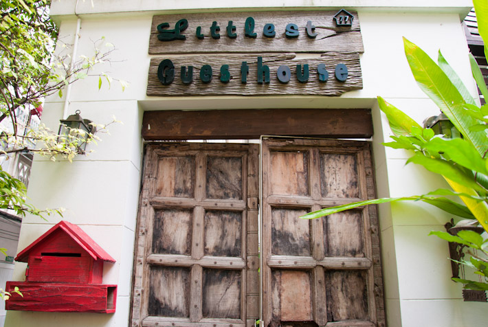 The Littlest Guesthouse in Bangkok